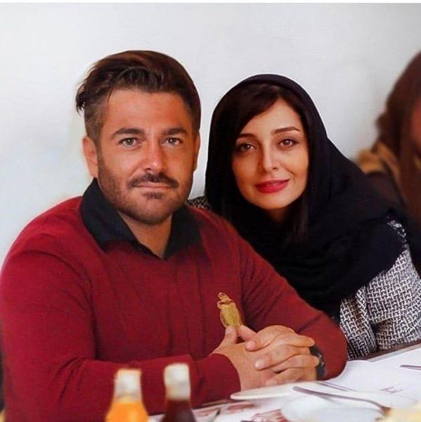 محمدرضا گلزار در کنار خواهر زن معروف رضا قوچان نژاد+عکس