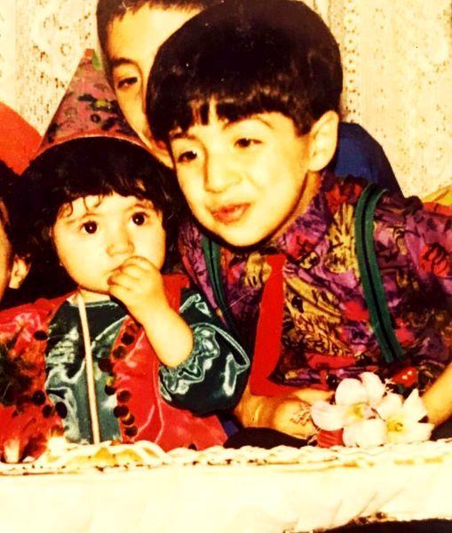تولد بهنام بانی در کودکی+ عکس
