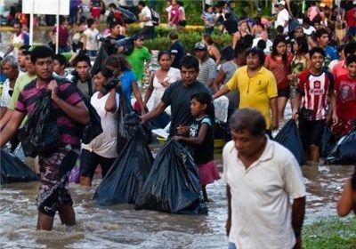 رانش زمین در مکزیک جان ۸۰ نفر را گرفت