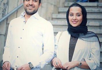 عکس ست لباس اشکان خطیبی و همسرش