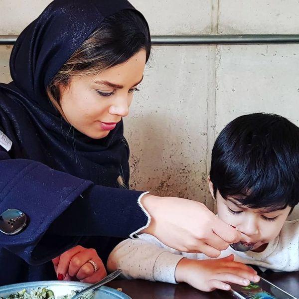 تصویری از همسر احسان خواجه امیری و متنی که برای او نوشت