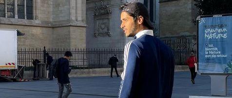 استایل ساعد سهیلی در فرانسه + عکس
