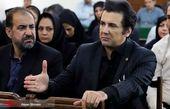 حضور حسام نواب صفوی در دادگاه+عکس