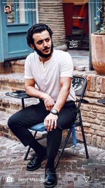 صندلی مدل قدیمی علی شادمان + عکس