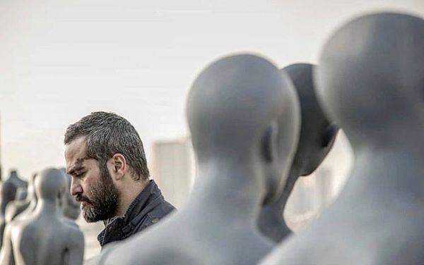 میلاد کیمرام در میان مانکن ها + عکس