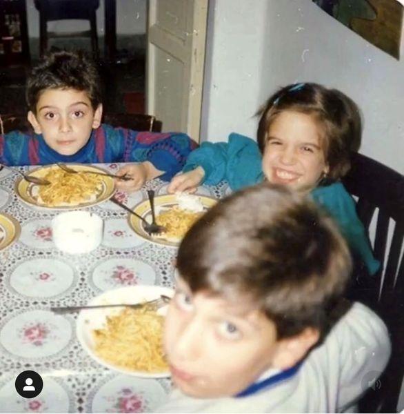 ستاره پسیانی در کودکی + عکس
