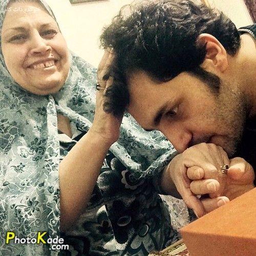 بوسه امیرمحمد زند + عکس