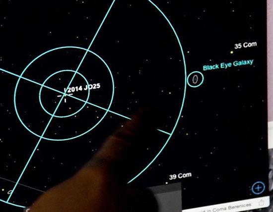 سیارکی اندازه زمین فوتبال فردا از کنار زمین میگذرد