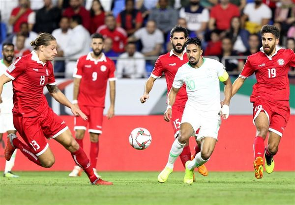 صعود عربستان به مرحله یک شانزدهم با غلبه بر لبنان