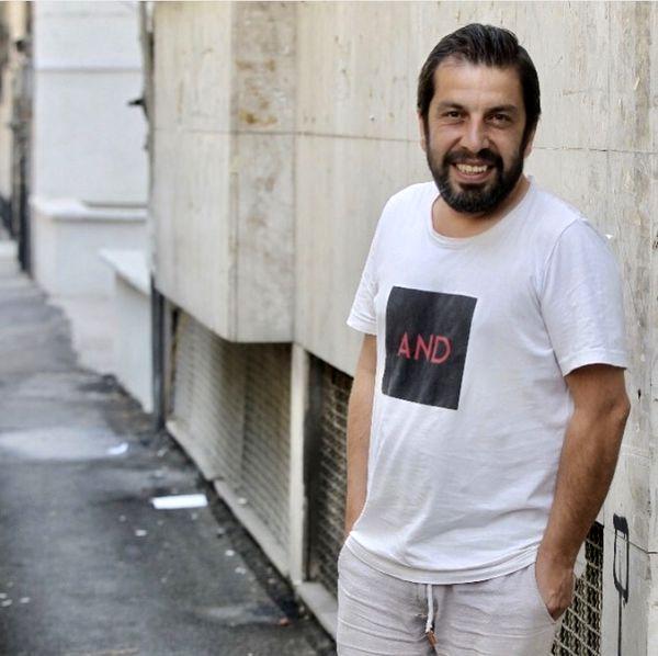 تیپ اسپرت بازیگر آخر خط در خیابان + عکس