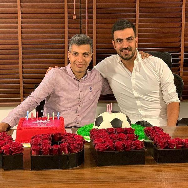 تولد زیبای عادل فردوسی پور در کنار برادرش+عکس