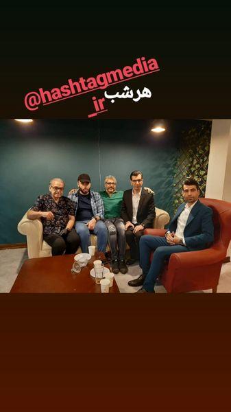 حمید لولایی در کنار فینالیست خندوانه + عکس