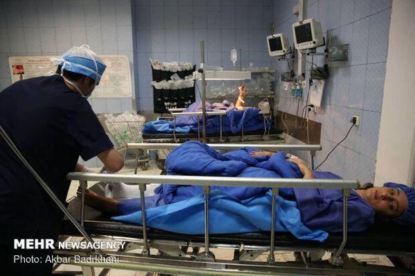 ارائه خدمات درمانی سیل زدگان با کد ملی