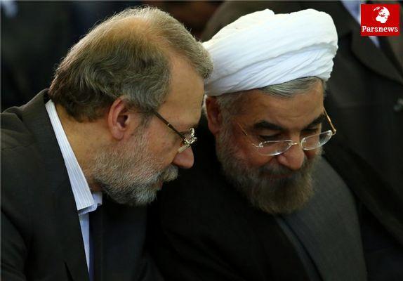 رد توافق میان لاریجانی و روحانی برای تغییر ساختار دولت