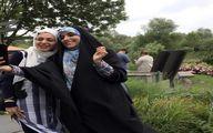 مژده لواسانی و دوستش در دل طبیعت + عکس