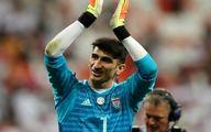 واکنش رسانه ترکیهای به حرکت خاص بیرانوند در بازی با عراق + عکس
