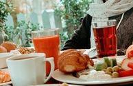 صبحانه لاکچری خانم بازیگر+عکس