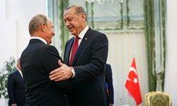 پوتین و اردوغان دوشنبه درباره سوریه گفتوگو میکنند