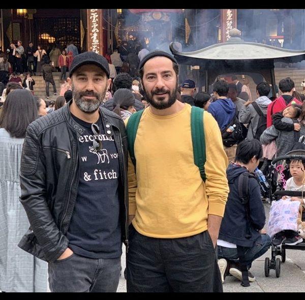 محسن تنابنده ونوید محمدزاده  در چین + عکس