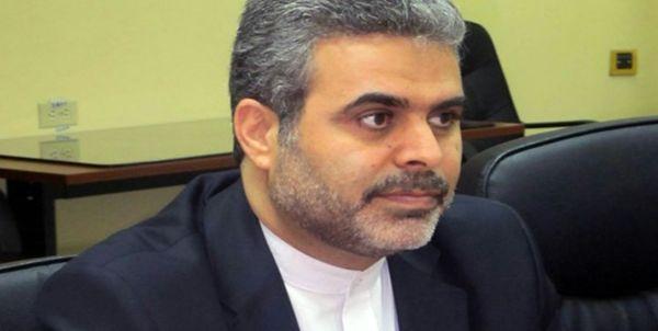 سفیر جدید ایران در هند وارد محل ماموریتش شد