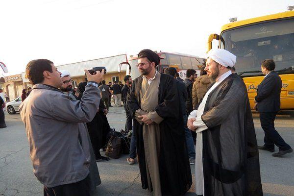 کاروان خادمین زائران اربعین حسینی (ع) از پایگاه مهرآباد اعزام شد