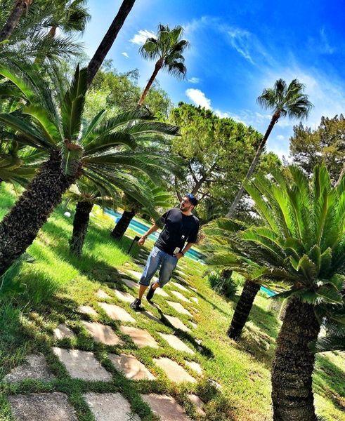 نیما شاهرخ شاهی در طبیعتی بهشت گونه+عکس