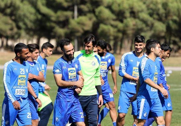 امید فتحی به بازیکنان استقلال