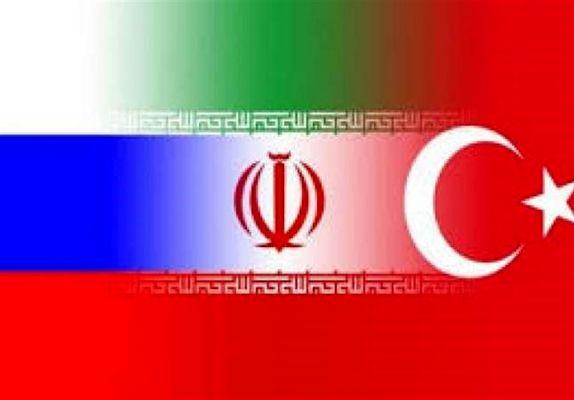 نشست سه جانبه وزرای دفاع ایران، روسیه و ترکیه در مسکو