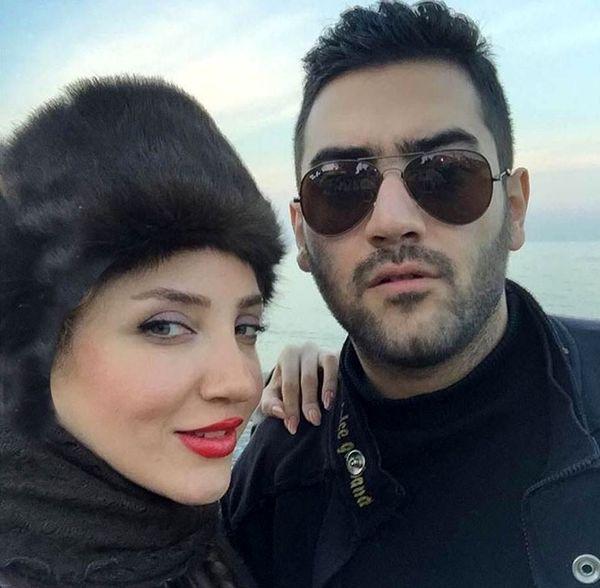 خانم بازیگر زیبا و برادرش+عکس