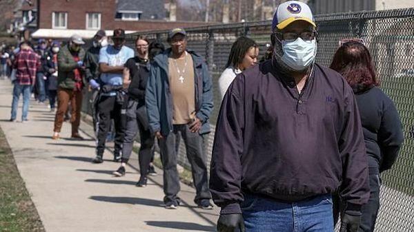 نظرسنجی مردم آمریکا درباره تداوم قرنطینه