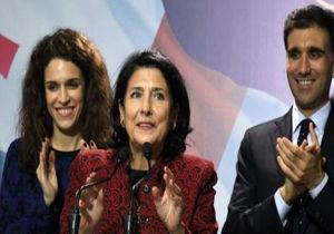 برای نخستین بار یک زن رئیسجمهور گرجستان شد