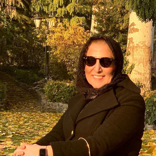 تیپ متفاوت ژیلا امیرشاهی در طبیعت+عکس