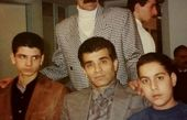 جوانی ها محمد شیری در جمع دوستانش + عکس