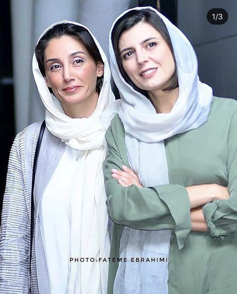 هدیه تهرانی در کنار همسر سابق علی مصفا + عکس