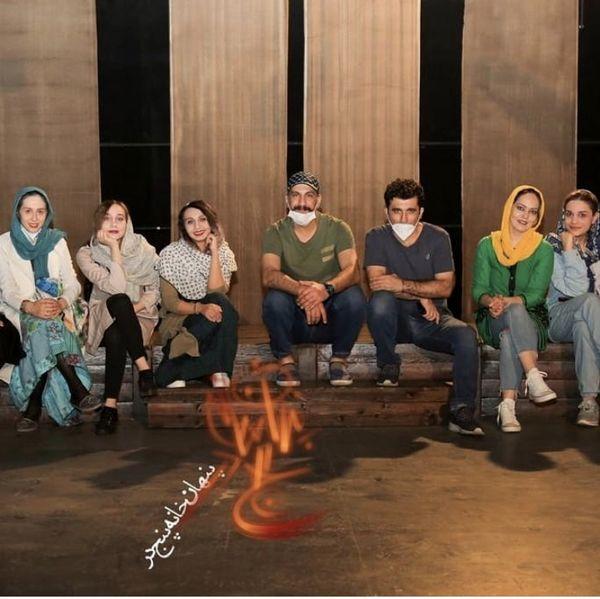 گروهنمایش محمد نادری + عکی