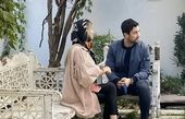 خلوت دونفره شاهرخ استخری و همسرش + عکس