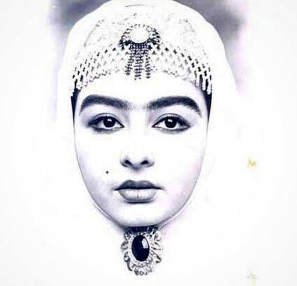 تیپ قجری ماهایا پطروسیان در نوجوانی هایش + عکس
