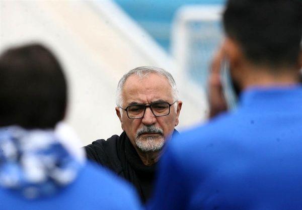 حضور حاجیلو در اردوی استقلال در اهواز
