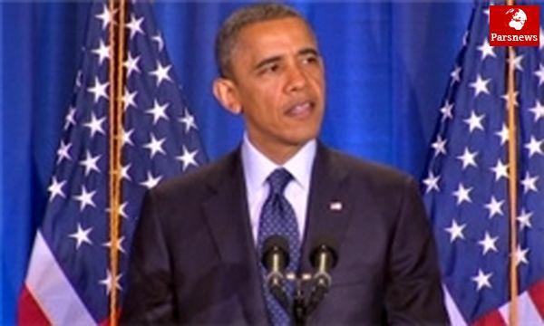 اوباما: هم اکنون زمان حل دیپلماتیک موضوع هستهای ایران فرا رسیده است