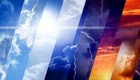 وضعیت آب و هوای ۲۵ فروردین / وزش باد و بارش پراکنده در اغلب شهرهای کشور