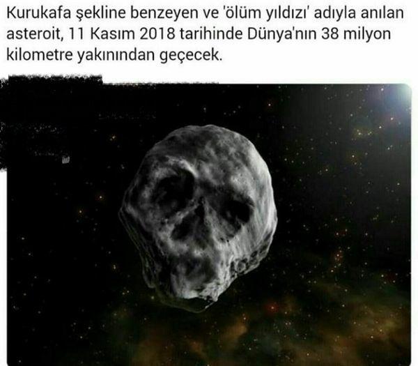 شهاب سنگی که به ستاره مرگ معروف است