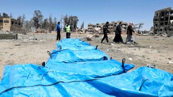 نامههای سوریه به سازمان ملل درباره کشف گورهای جمعی در رقه