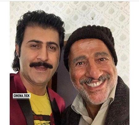 عکس خندان بازیگران سریال پایتخت
