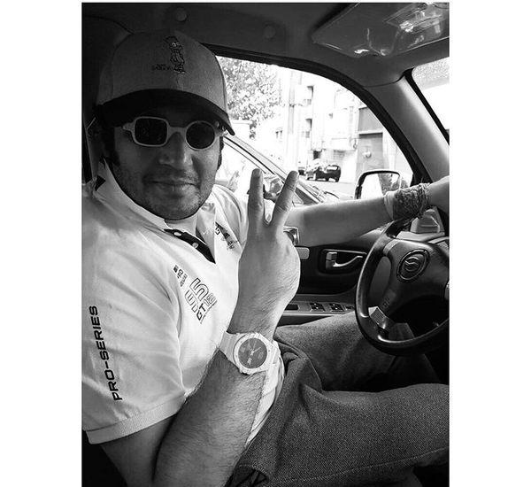 عینک متفاوت مهران رنجبر + عکس