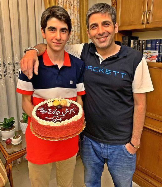 حمید گودرزی و برادرش + عکس