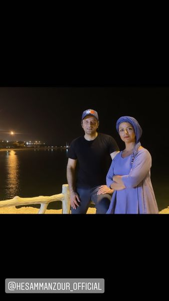 گردش شبانه شبنم فرشادجو با بازیگر مرد مشهور + عکس