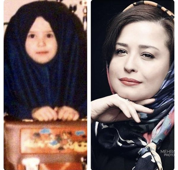 مهراوه شریفی نیا در خردسالی + عکس