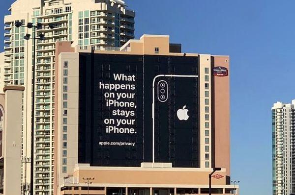 تبلیغ طعنه آمیز اپل در حاشیه نمایشگاه سی ای اس