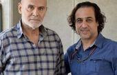 رامین راستاد در کنار پیشکسوت سینمای ایران + عکی