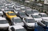 ترافیک سنگین در جاده فیروزکوه